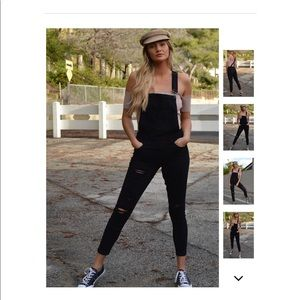Denim - LAST 3! Road Warrior Destructed Overall